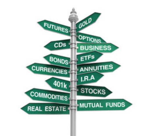 Investment portfolio types
