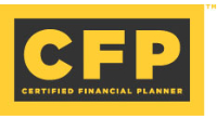 CFP® - Certified Financial Planner